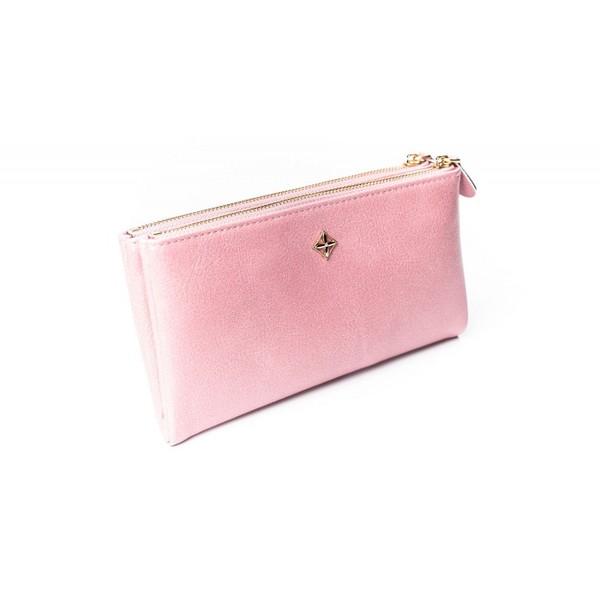 Dámská velká růžová peněženka MILANO DESIGN SF1845 ML BLACK