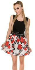 KouCla Letní šaty květinové s krajkou