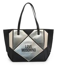 Dámská Velká Taška Přes Rameno Love Moschino Černá JC4120PP18LX