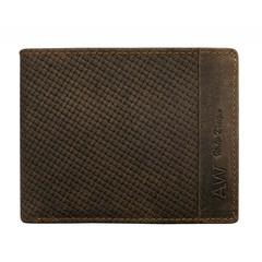 Pánská hnědá kožená peněženka ALWAYS WILD N992-BPU-2 BROWN