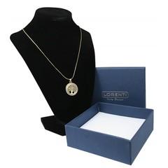 Zlatý náhrdelník s přívěskem strom života Lorenti 18
