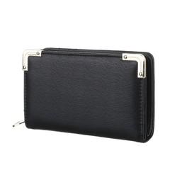 Galanto peněženka černá s ozdobnými rohy