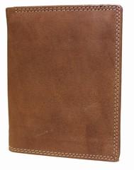 Galanto kožená peněženka hnědá přírodní 306