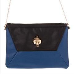 Galanto modrá dámská kabelka přes rameno crossbody