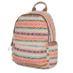Jerry Firenze dámský i dívčí látkový batoh barevný TA-18227-stripes