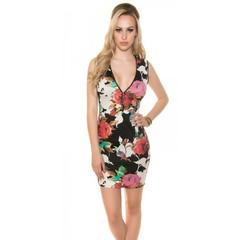 Letní dámské květinové šaty KouCla