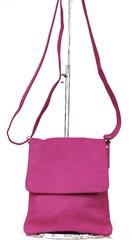 Vera Pelle dámská kabelka kožená přes rameno růžová