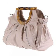 Dámská béžová stylová kabelka do ruky