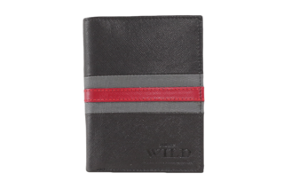 Pánská kožená peněženka ALWAYS WILD N4-SF-BACK-RED