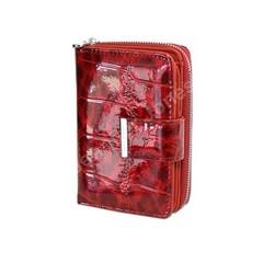 Dámská Luxusní Kožená Peněženka Červená Jennifer Jones 5198-3