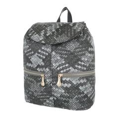 Dámský batoh šedý italský FADA FIRENZE
