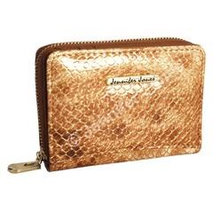Jennifer Jones malá dámská peněženka kožená 5248 GOLD