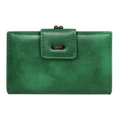 Dámská kožená peněženka Cavaldi zelená D14-2